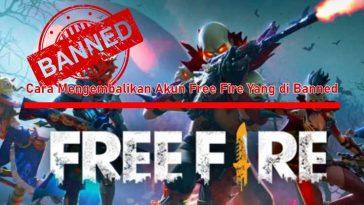 Cara Mengembalikan Akun Free Fire Yang di Banned