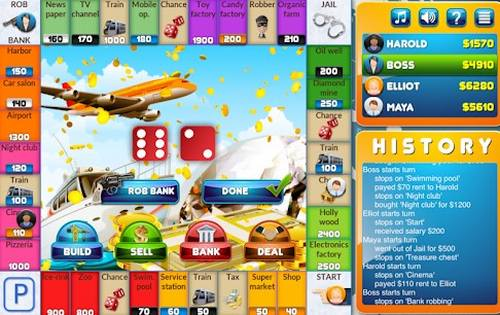 CrazyPoly Business Dice Game