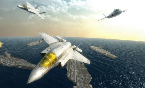 Critical Air Strike Jet Fighting Games 2020