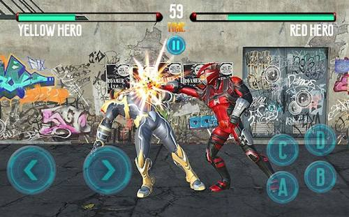 Dino Hero Fight Morphin Power Wars Legend Battle