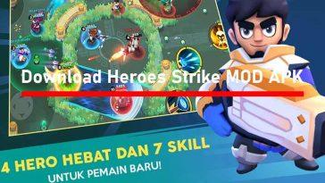 Download Heroes Strike Offline MOD APK Unlimited Money Gems