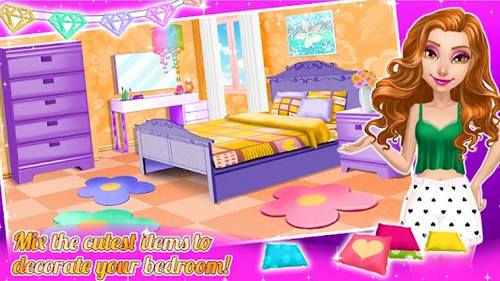 Dream Doll House Decorating Game