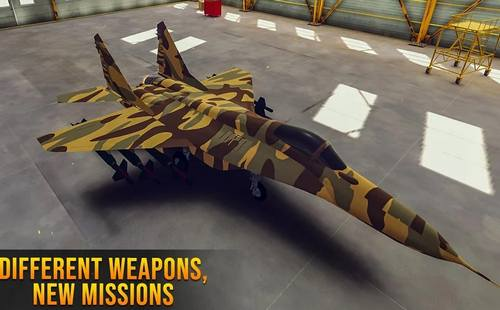Fighter Jet Air Strike New 2020 with VR