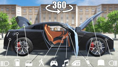 Gt r Car Simulator