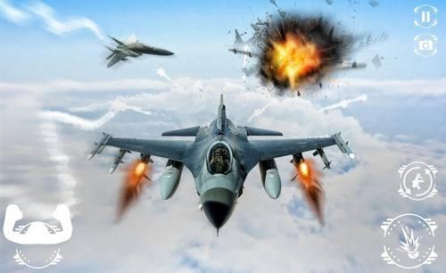 Modern Air Combat Strike Jet Fighting Plane Games