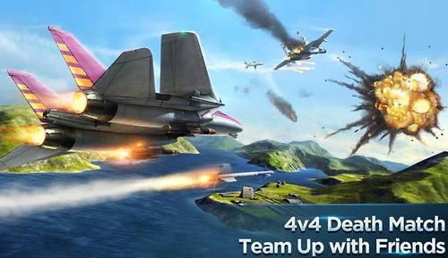 Modern Air Combat Team Match