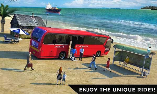 River Bus Driver Tourist Coach Bus Simulator