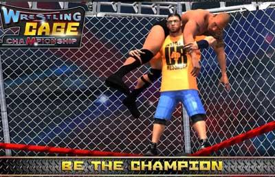 Wrestling Cage Championship WRESTLING GAMES