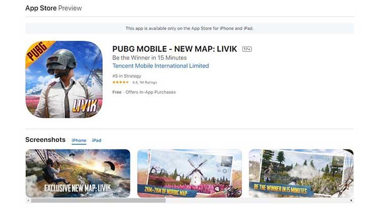 Cara Memperbarui PUBG Mobile di HP iOS
