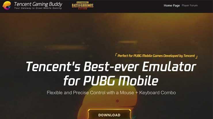 Cara Setting Control PUBG Mobile via Tencent Gaming Buddy