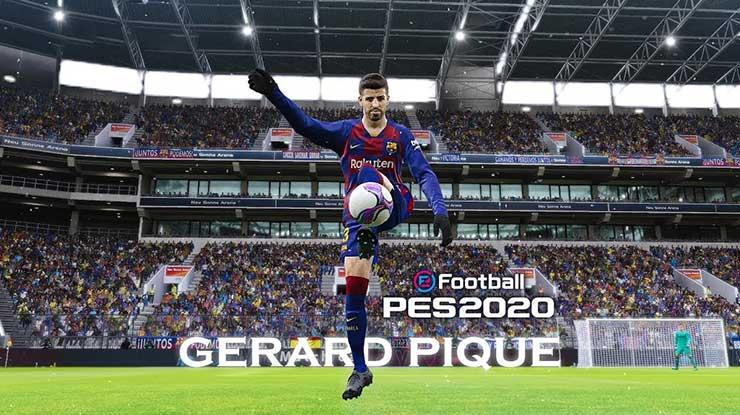 G. Pique ( Bek Barcelona PES Android 2020 )