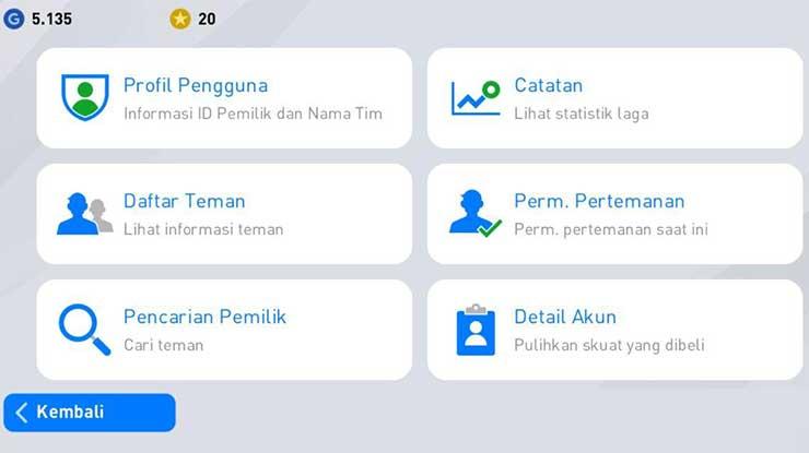 Informasi Pengguna