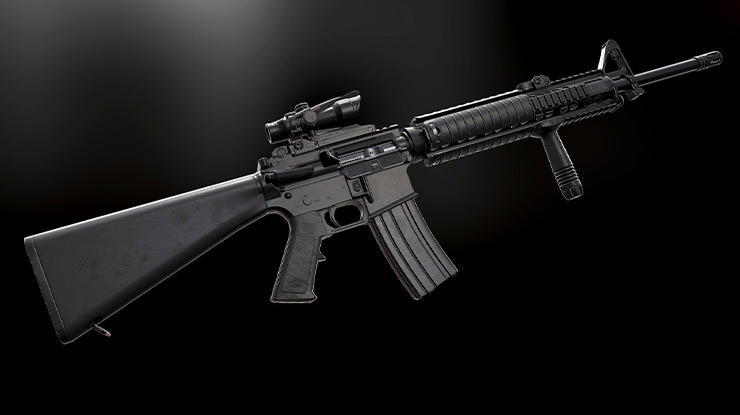 Tips Menggunakan Senjata M16A4 PUBG Mobile