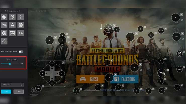 Manfaat Seeting Control PUBG Mobile di PC