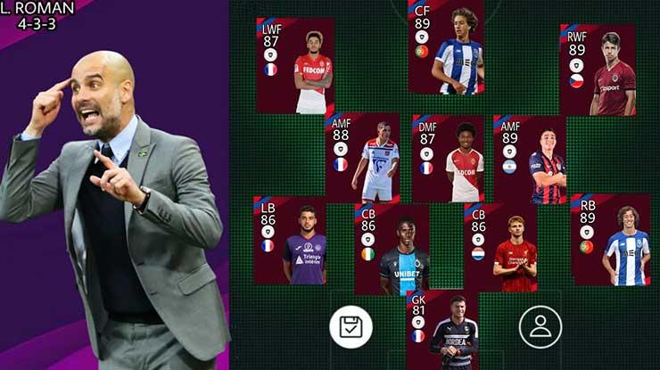 Perbedaan Pelatih dan Manager di PES 2020 Mobile