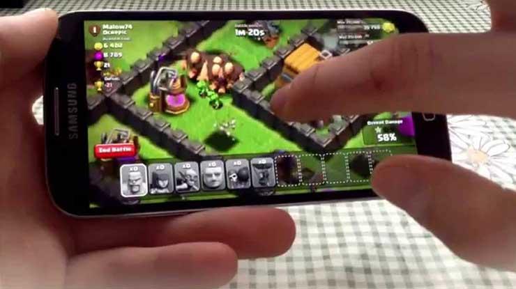 Tips Lancar Main COC di HP Android