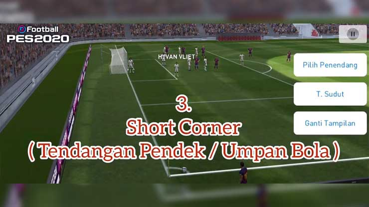 Trik Short Corner