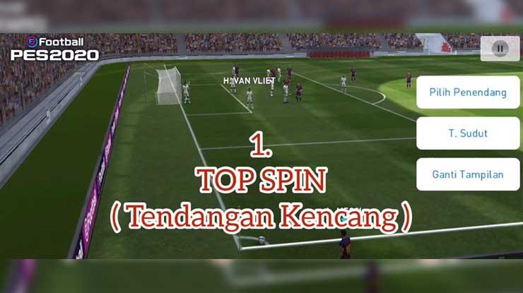 Trik Top Spin