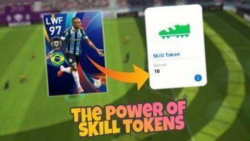 Begini Cara Menggunakan Token Skill PES Mobile 2020 dan Manfaatnya
