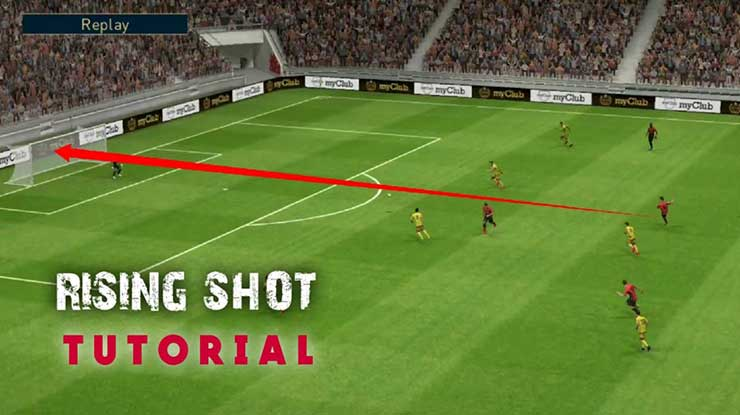 Ini Dia Cara Melakukan Rishing Shot PES 2020 Android Terlengkap