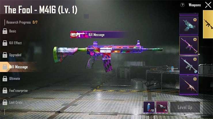Keunggulan Senjata M416 The Fool Joker