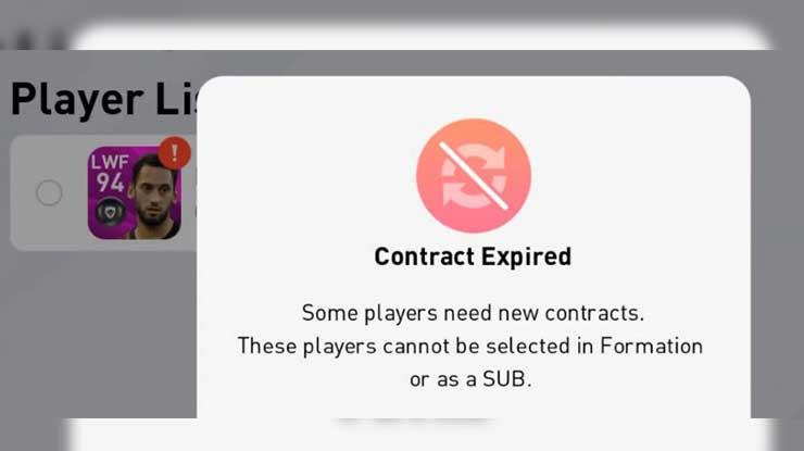 Manfaat Tiket Kontrak di eFootball PES 2020 Android