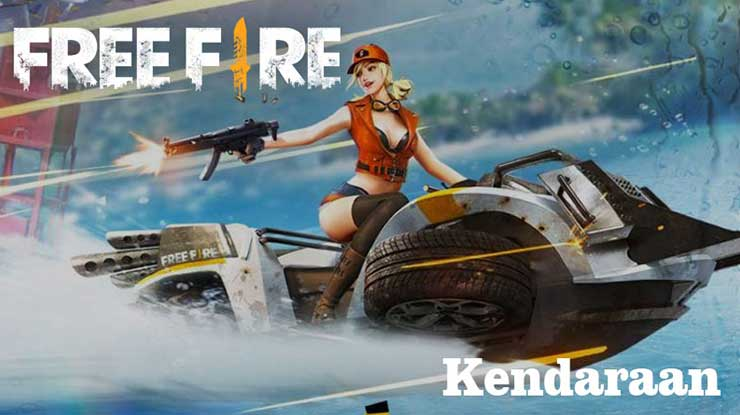 Naik Kendaraan Free Fire