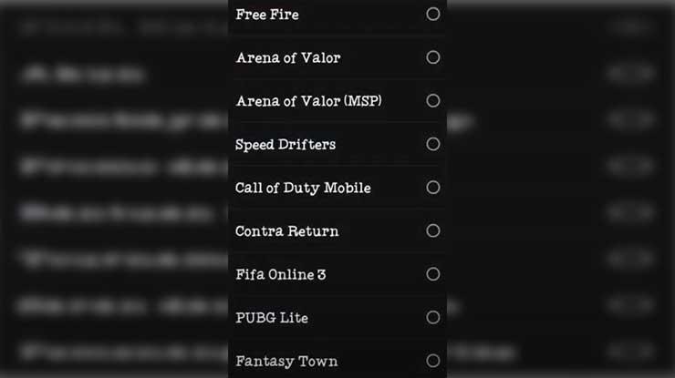 Selanjutnya klik Game Free Fire