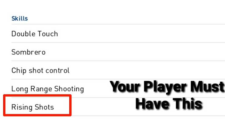 Siapa Saja Pemain yang Bisa Melakukan Rishing Shot