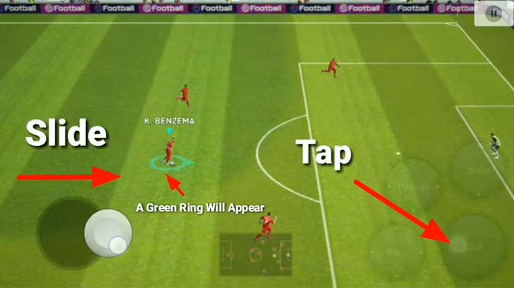 Trik Dipping Shot di PES Mobile 2020 1