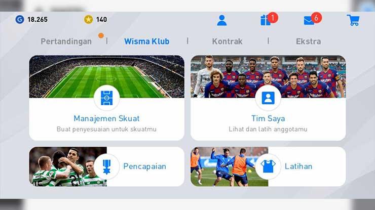 Wisma Klub - Manajemen Skuat