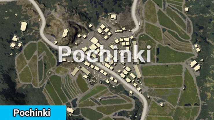 Pochinki Erangel