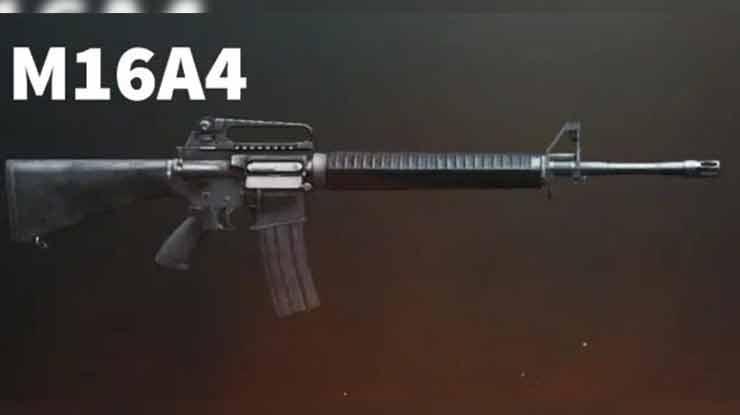Rekomendasi Attachment M16A4 PUBG Mobile Terbaik Statitistik Tips Menggunakan