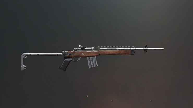 Statistik Senjata Mini14