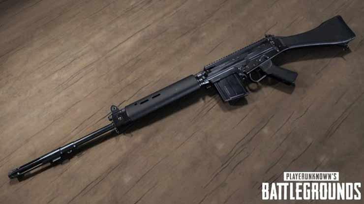 Statistik Sniper SLR PUBG Mobile