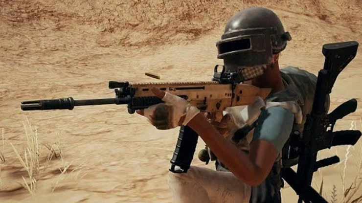 Tips Menggunakan Senjata Scar L
