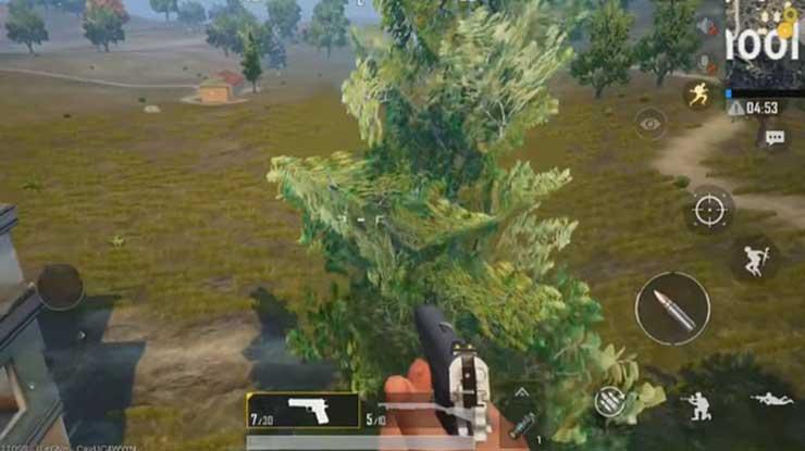 Pohon Rindang Rahasia di MAP Erangel