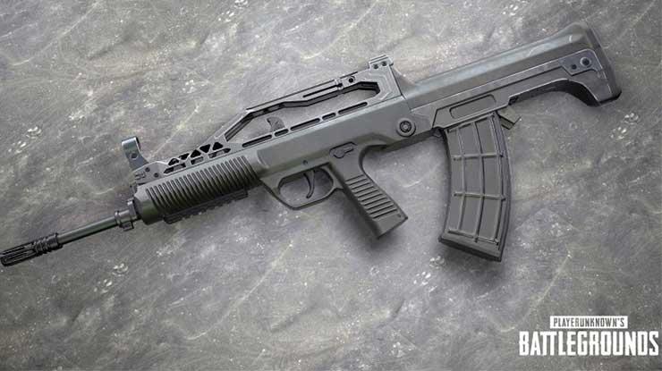 Tips Menggunakan Senjata QBZ di PUBG Mobile