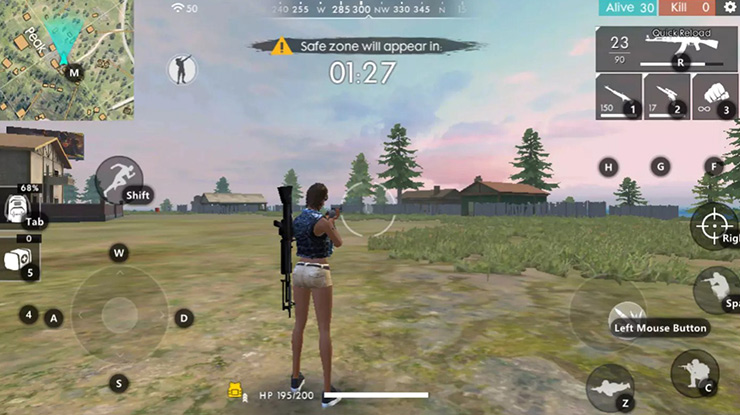 Cara Main Free Fire di PC Tanpa Emulator
