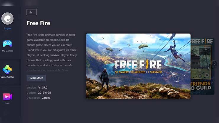 Cara Update Free Fire di Tencent Gaming Buddy