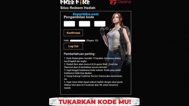 Kode Redeem Free Fire