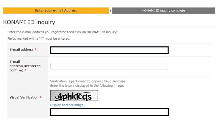 Masukkan Email dan Kode Captcha