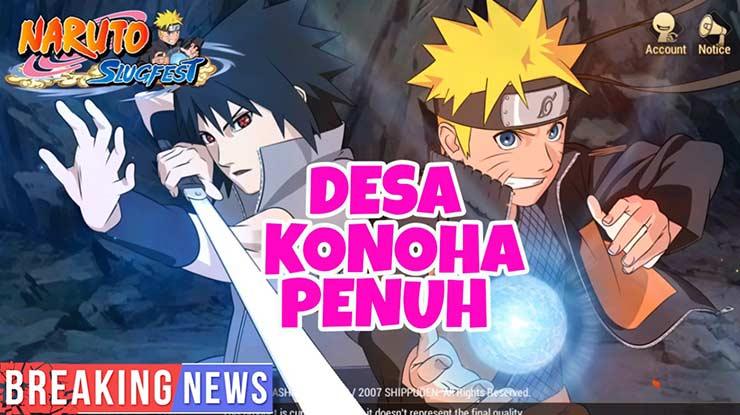 Penyebab Naruto Slugfest Tidak Bisa Login