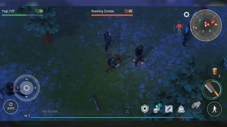 Bertarung Dengan Zombie Legend