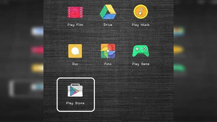 Buka Play Store