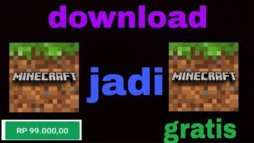 Cara Download Minecraft Bayar Jadi Gratis di PC Android Pasti Berhasil
