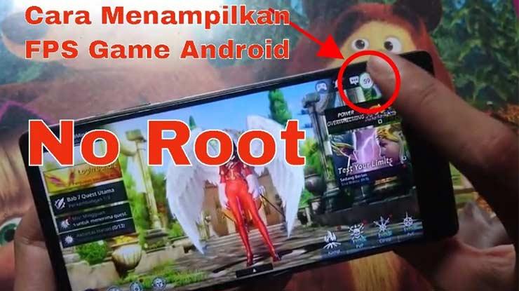 Cara Melihat FPS Game Android Tanpa Root Dijamin Berhasil