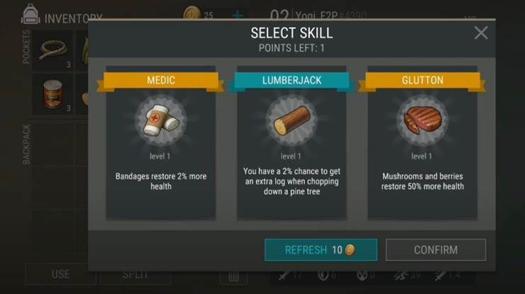 Dapatkan Skill