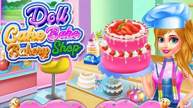 Doll Cake Bake Bakery Shop