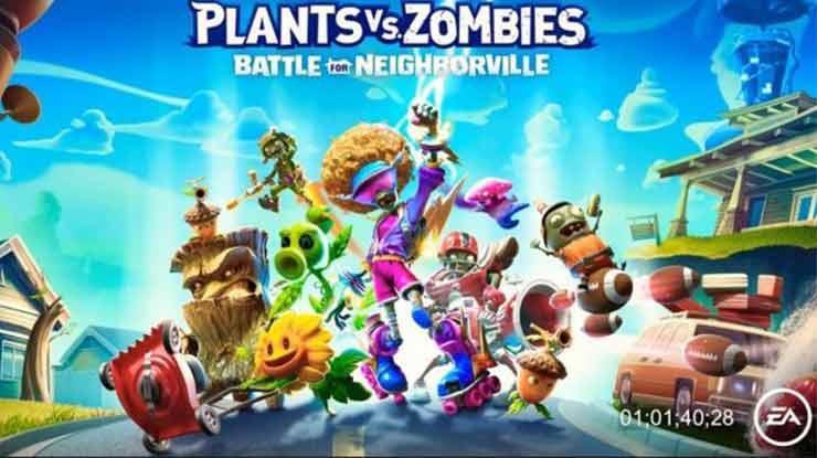 Game Zombie Plants vs Zombie